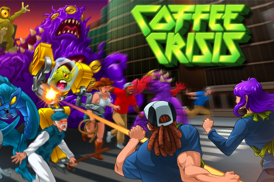 Baristas Save Pittsburgh In Retro Side-scroller Coffee Crisis photo