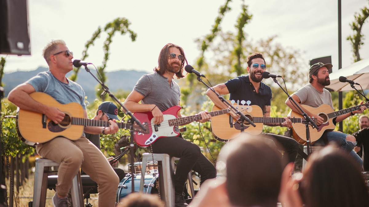 Live In The Vineyard Goes Country With Carrie Underwood, Old Dominion In Napa Valley photo