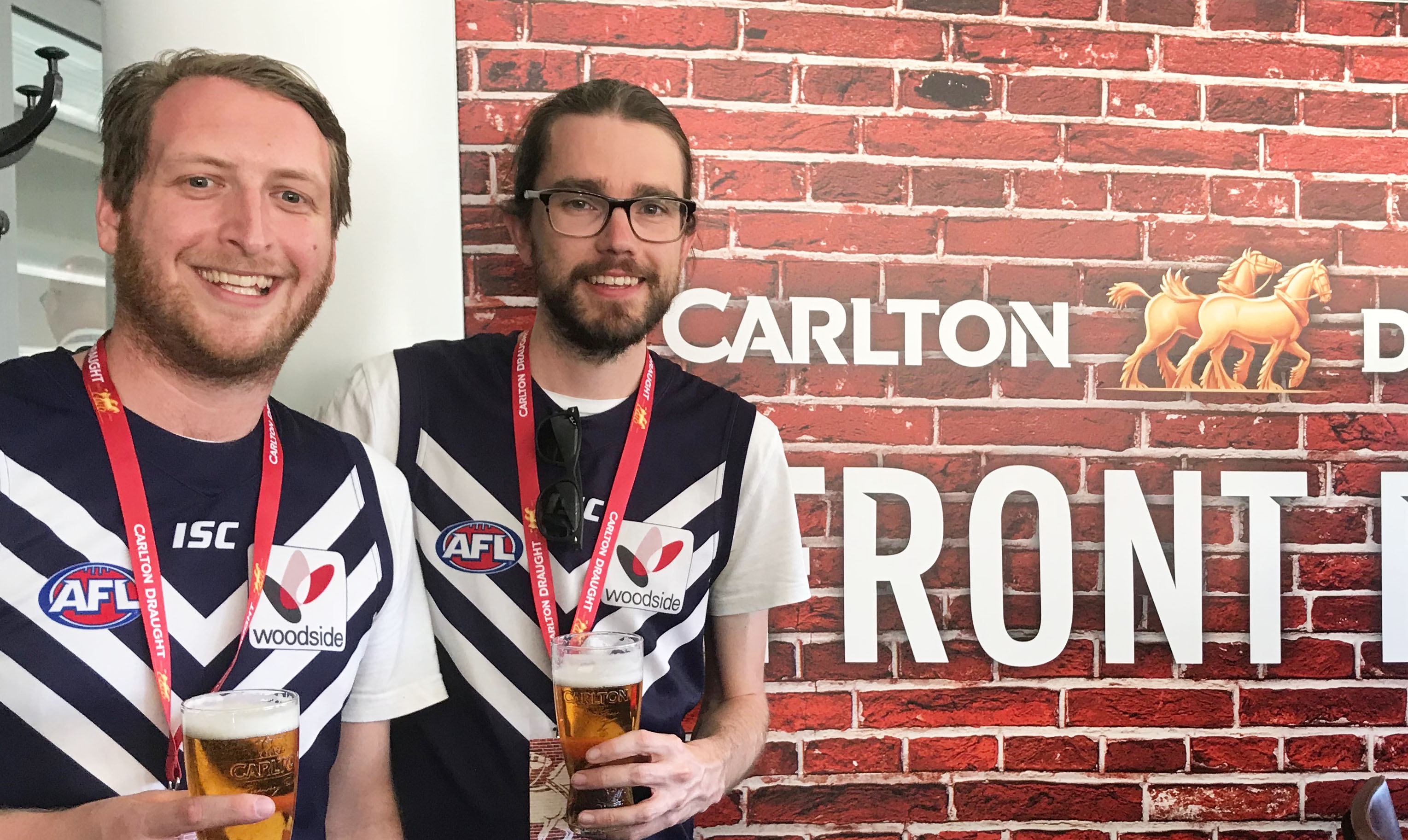 Win Tickets In The Carlton Draught Front Bar photo