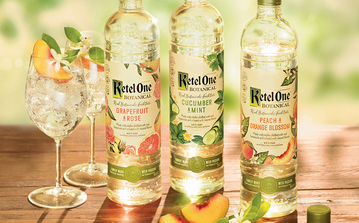 Diageo-affiliated Ketel One Releases Botanical Vodka Range photo