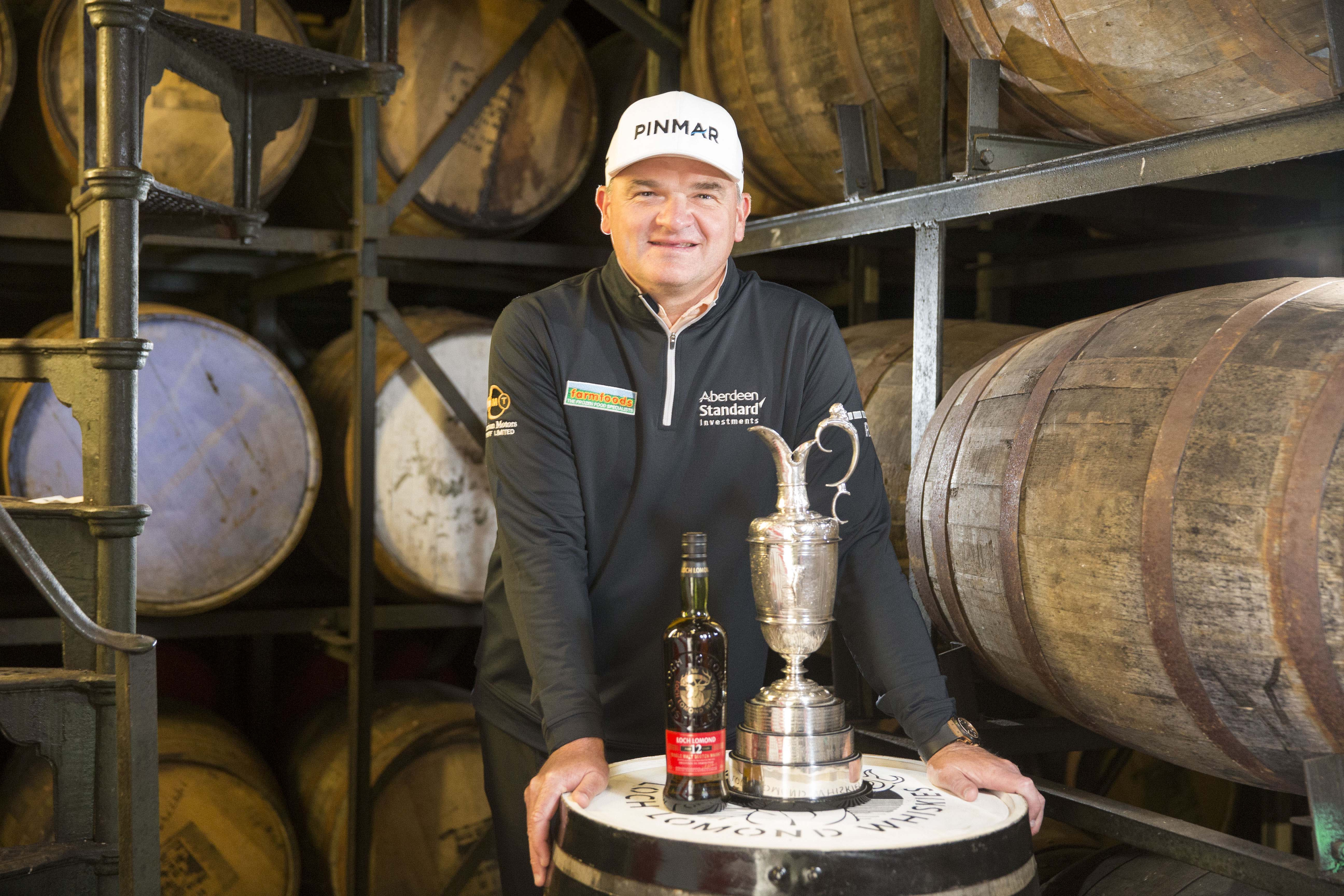 Tee Off: Loch Lomond Whiskies Signs Paul Lawrie As Brand Ambassador photo