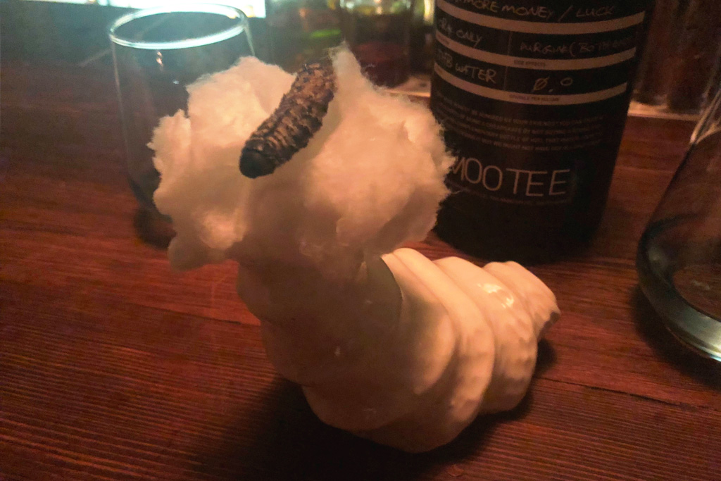 Candy Floss, Mopane Worms And The Best Cocktail I`ve Ever Had photo
