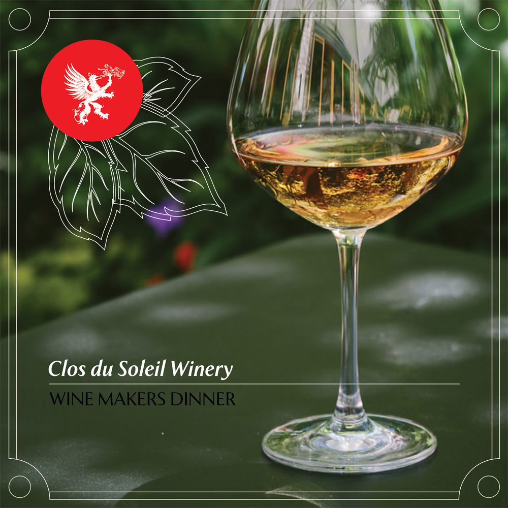Chambar To Pair With Clos Du Soleil For Winemaker's Dinner On The Patio photo
