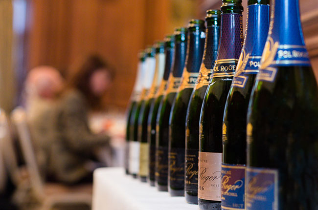 Royal Wedding Wine: Pol Roger Champagne Served photo