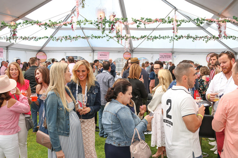 Dan's Rosé Soirée Kicked Off Summer 2018 In Style photo
