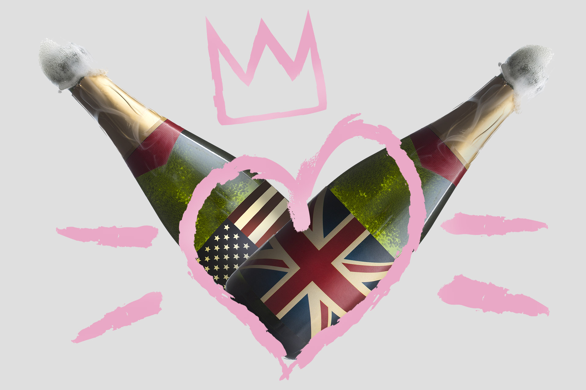 10 Bottles Of Bubbly For Royal Wedding Watching photo