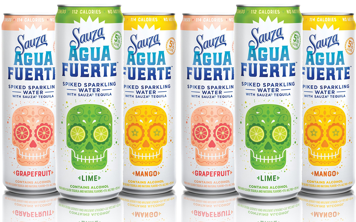 Sauza Tequila Launches Range Of Tequila-based Sparkling Waters photo