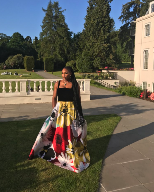 Serena Williams Was The Beer Pong Champion At The Royal Wedding photo