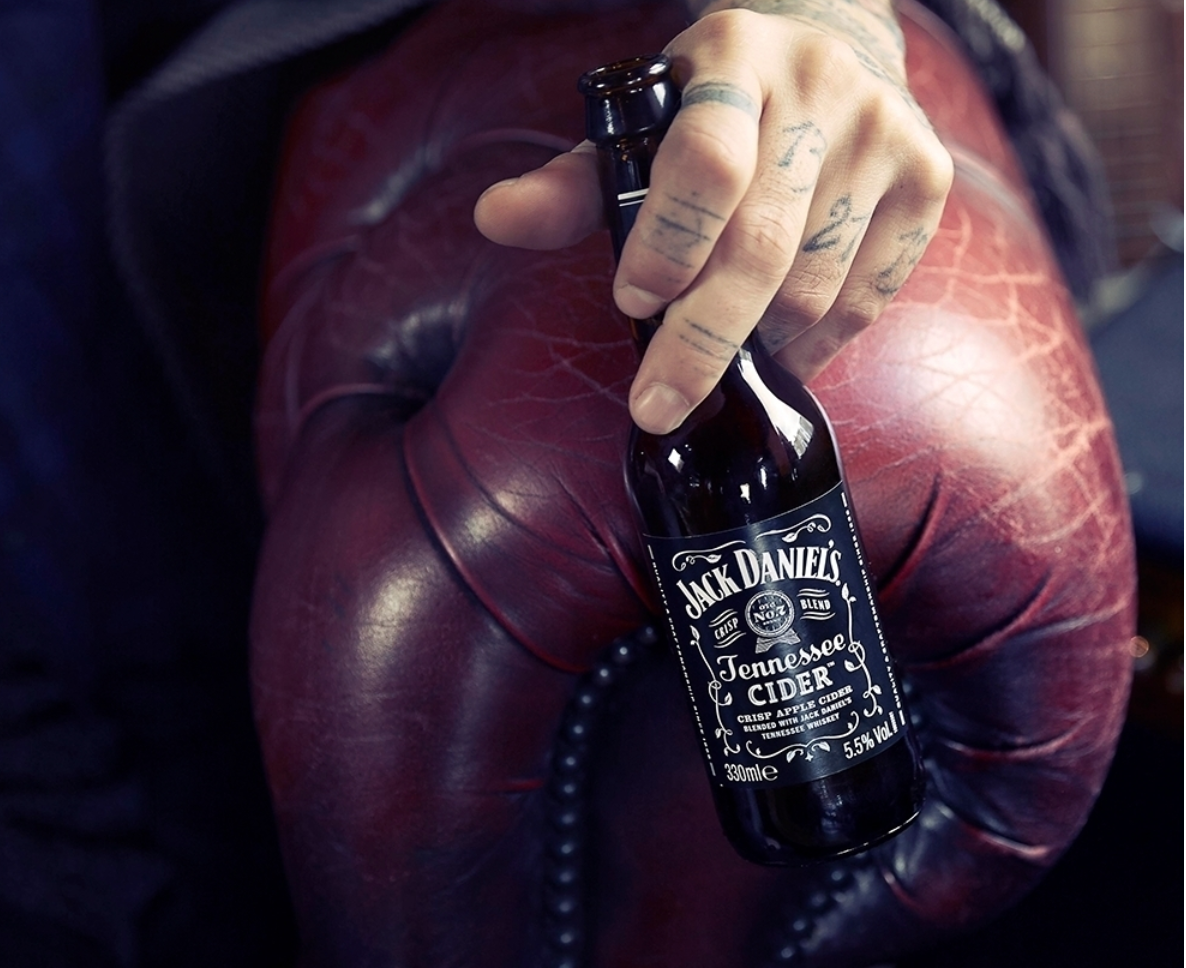 Jack Daniels Selling A Whiskey Cider In Ireland photo