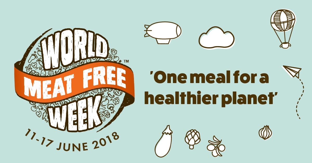 I've Pledged My Support For #worldmeatfreeweek 2018! photo
