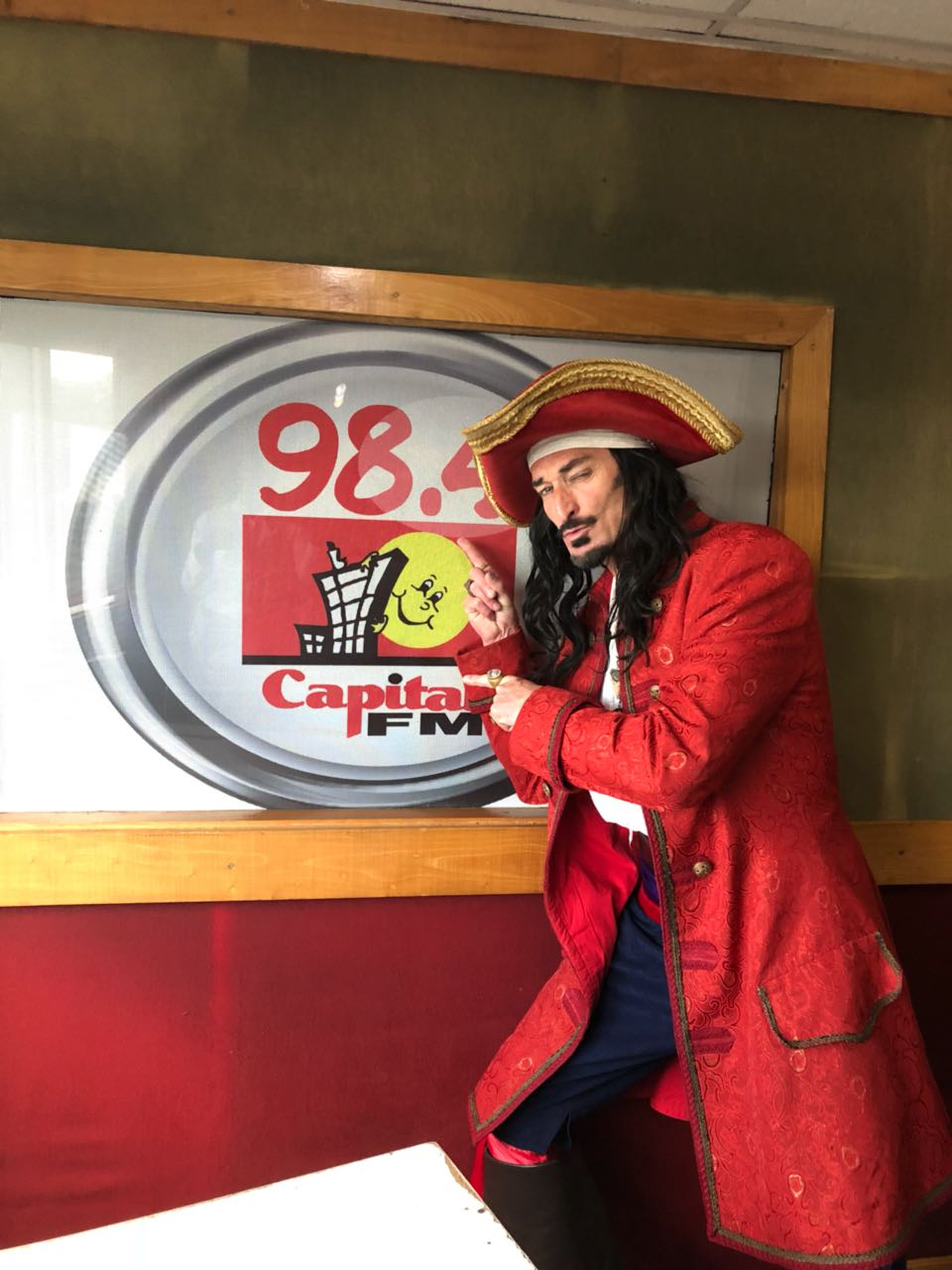 The Real Captain Morgan Is In Nairobi Sharing His Love For 'gold' photo