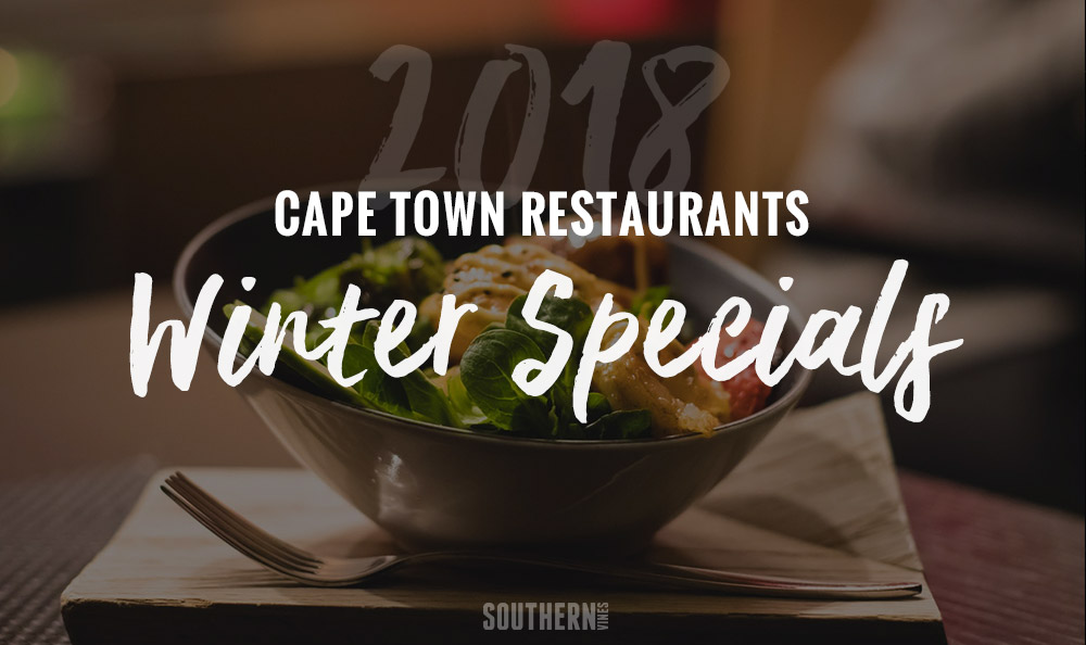 Cape Town Winter Specials 2018 photo