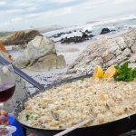 Bouchard Finlayson Galpin Peak Pinot Noir 2016 paired with Abalone Risotto photo