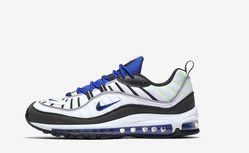 Don't Sleep: The Air Max 98 ?sprite? Drops Sooner Than You Think photo