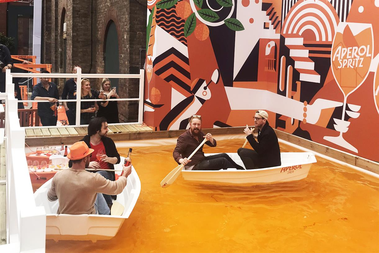 Why Aperol Is Going Bigger Than Ever In This Year's Summer Activation photo