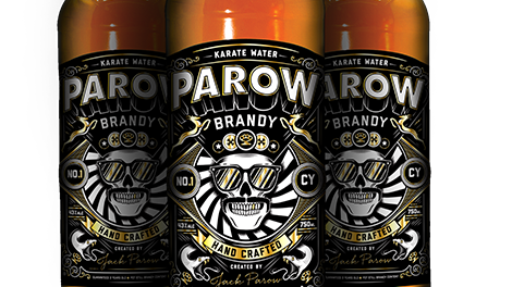The First Brandy To Be Served At Beerhouse #parowbrandy #jackparow photo
