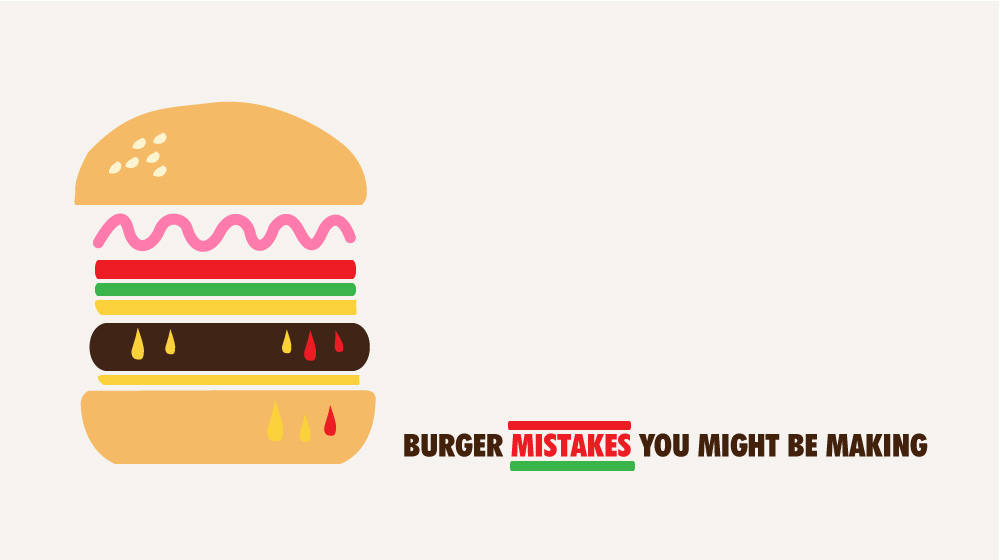 Burger Mistakes You Might Be Making photo