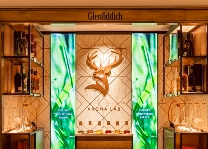 Glenfiddich Aroma Lab Unveiled At Harrods photo