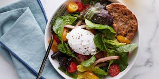 Eggs Benedict Breakfast Salad photo