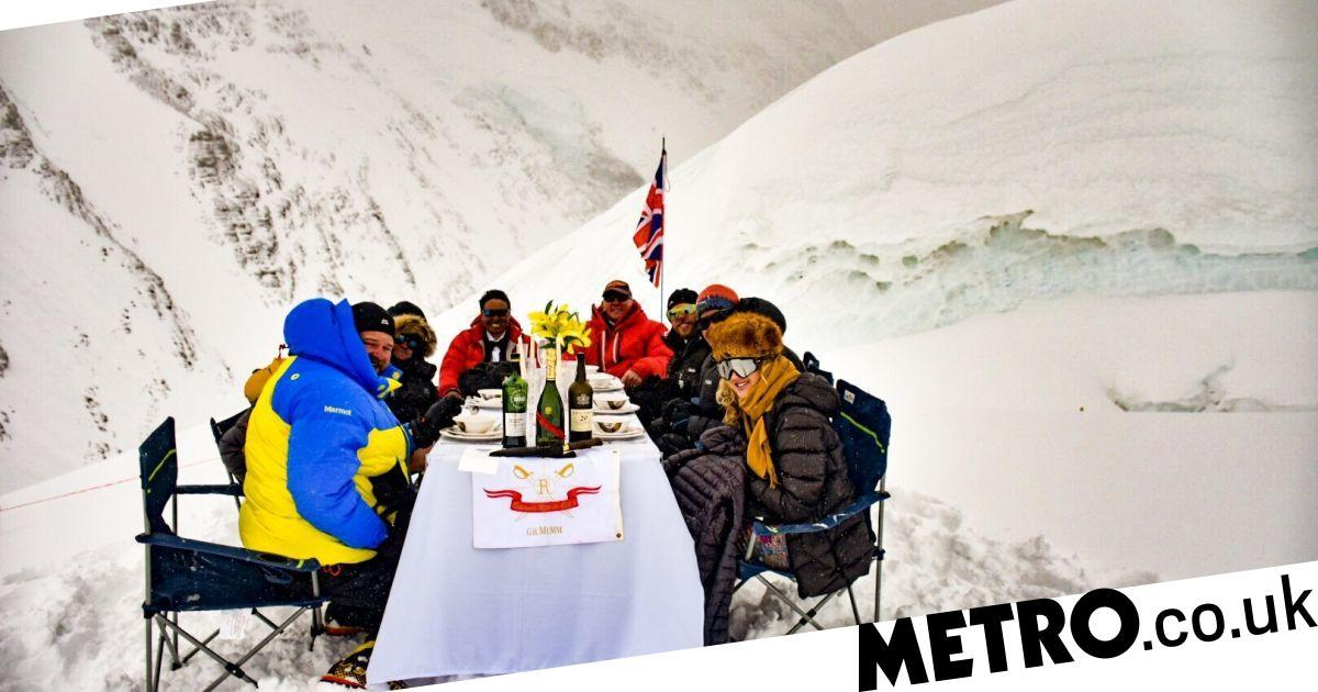The World's Highest Dinner Party: How We Held A Record-breaking Feast On Everest photo