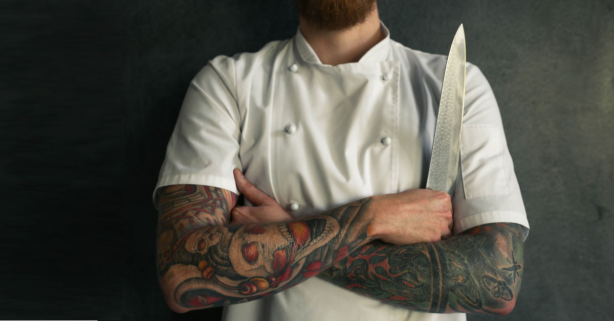 Cape Town Chefs And Their Tattoos photo