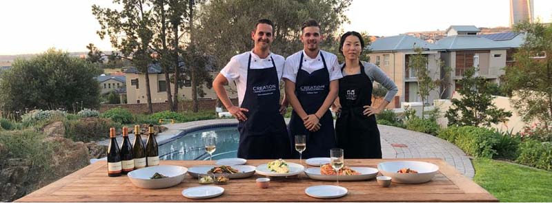 Creation Chefs doing the Kimchi photo