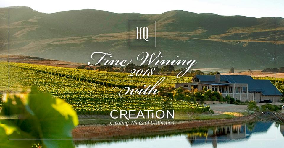 Fine Wining with Creation at HQ photo
