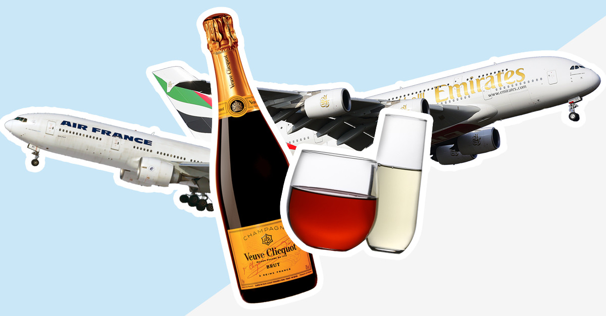 Is There Science Behind The Claim That Wine Tastes Differently At 35,000 Feet? photo