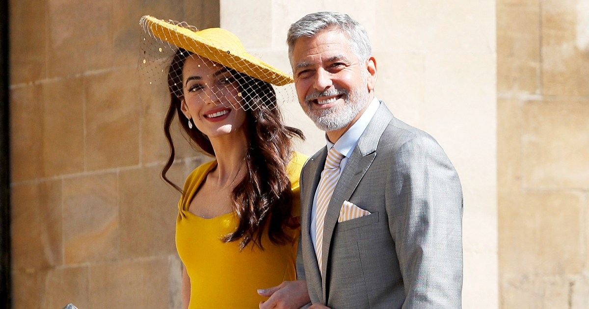 George Clooney Served Casamigos Tequila At Royal Wedding Party photo