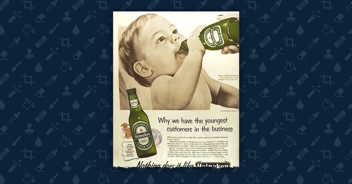 Fact Check: Did Heineken Advertise Beer To Babies? photo