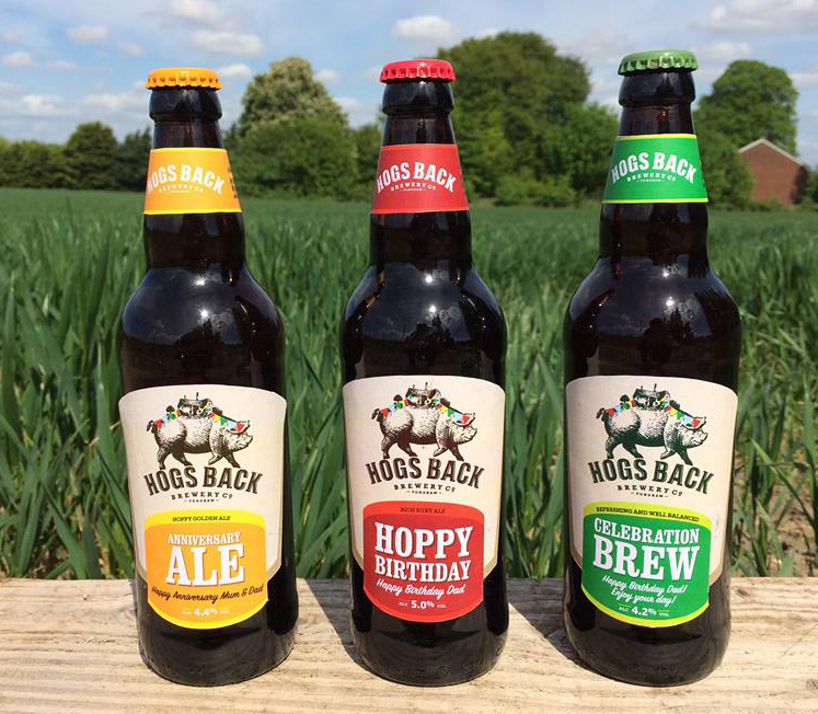 Personalised Hog's Back Beer Gifts For Father's Day ? Beer Today photo