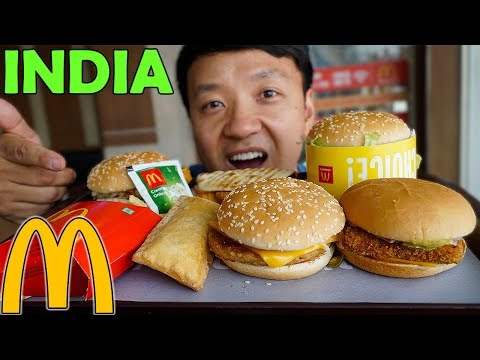 Trying Mcdonald?s Breakfast & Lunch In India photo