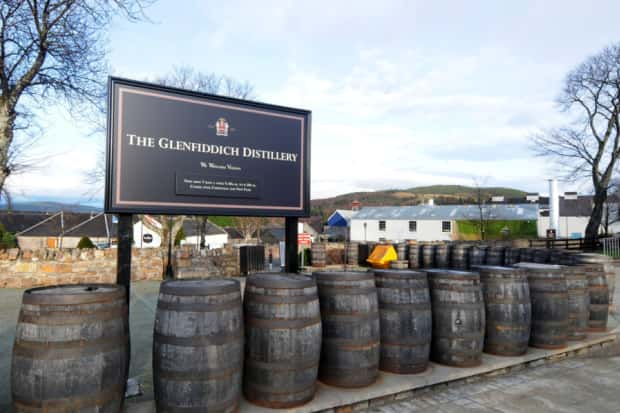 Glenfiddich Family Tops Scottish Rich List photo