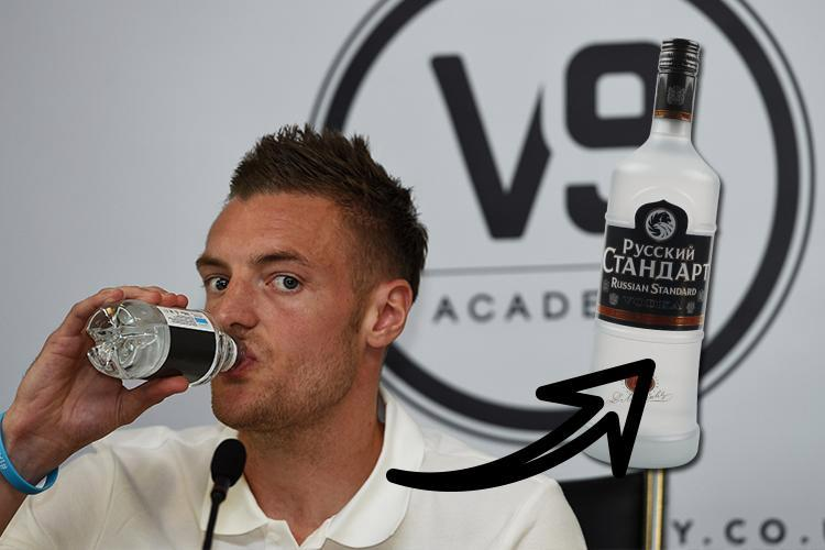 How Each Member Of England's 2018 World Cup Squad Handle Their Russian Standard Vodka photo