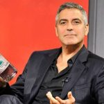 George Clooney downs tequila as he celebrates birthday photo