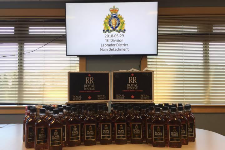Mounties Seize Bootlegged Alcohol In Newfoundland photo