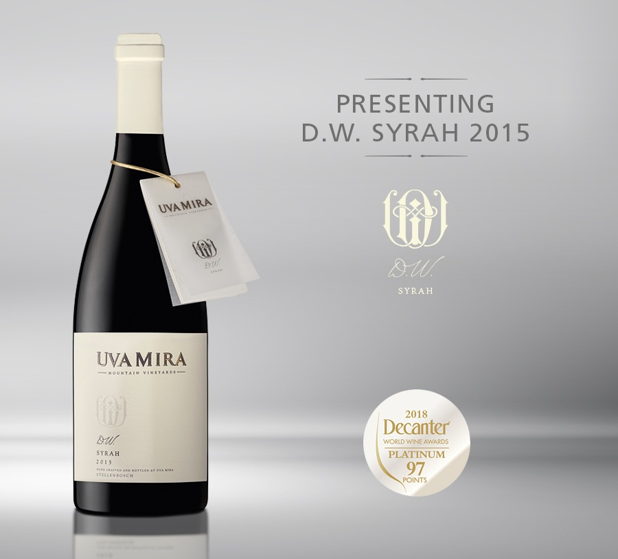 Uva Mira D.W. Syrah wins Platinum at the Prestigious Decanter World Wine Awards photo