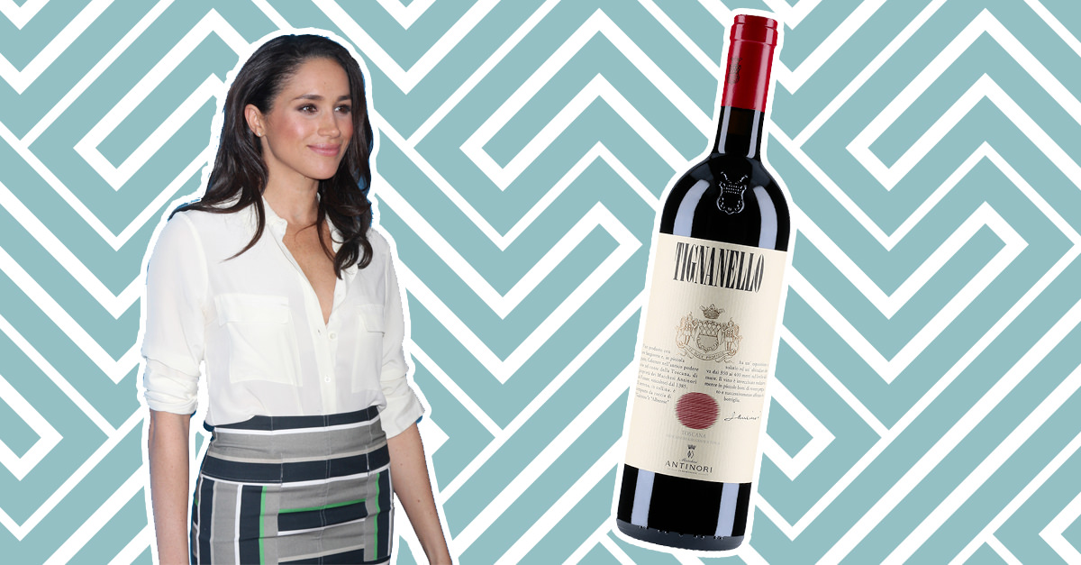 Everything You Need To Know About Tignanello, Meghan Markle?s Favorite Wine photo