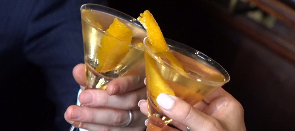 Legendary Bartender Shows How To Make A James Bond Martini, The Vesper photo