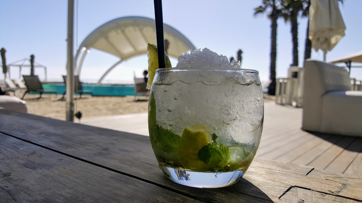 mocktail shimmy Shimmy Beach Club Warms Up The Waterfront Harbour With New Winter Menu