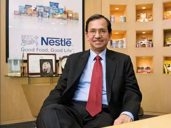 Why Nestle's Suresh Narayanan Thinks Consumption Will Have A Ring Of Halo photo