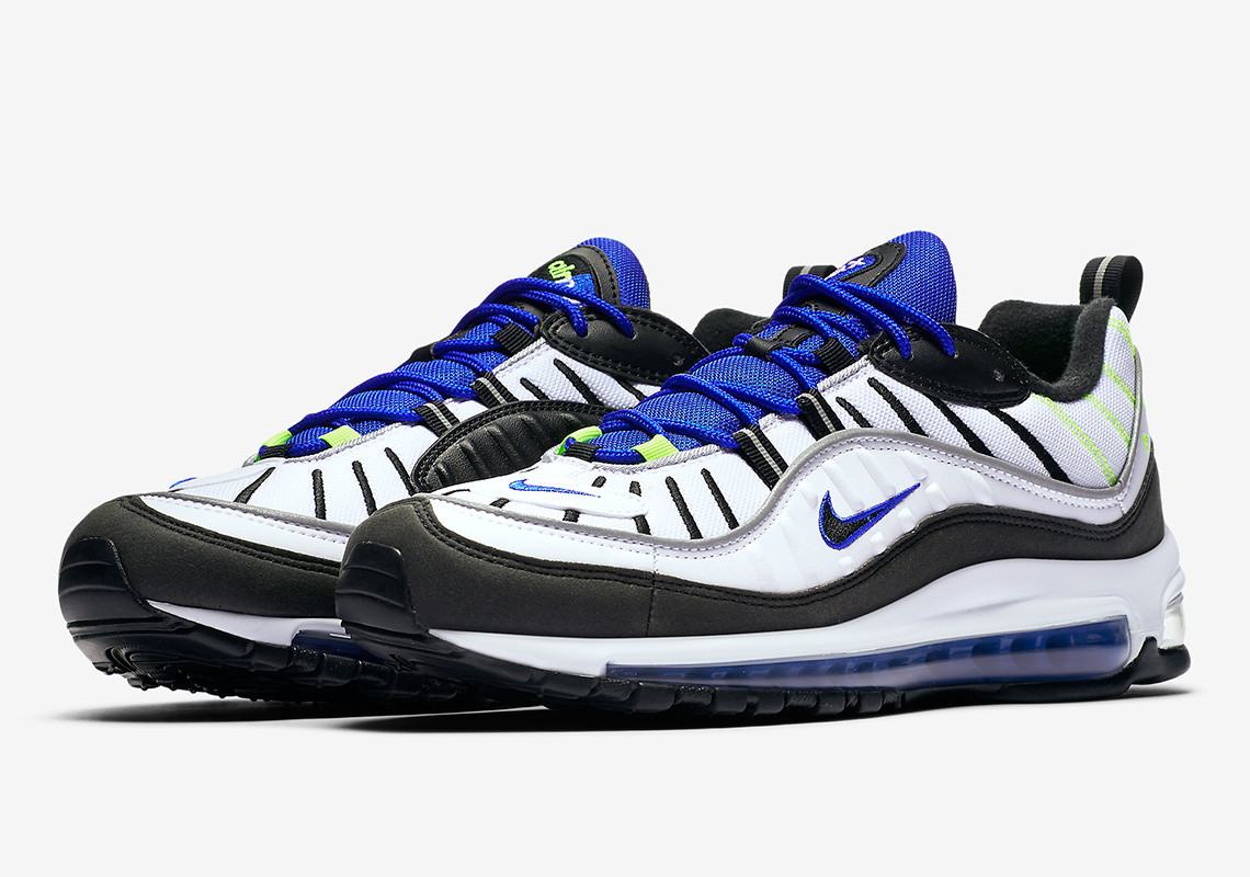 "Nike Air Max 98 ""sprite"" 640744-103 Release Info photo"
