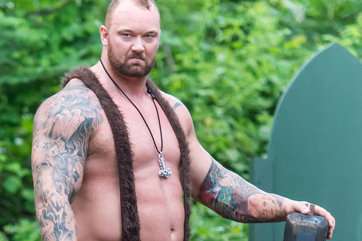 Everything You Need To Know About Weightlifter And Got Actor Hafthor Bjornsson photo