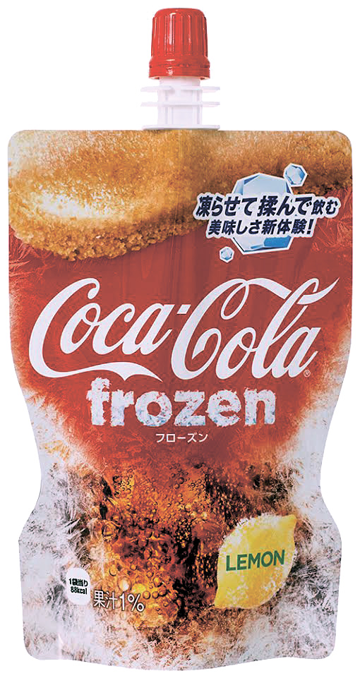 Coca-cola Frozen Lemon: What's Coke Without The Fizz? photo