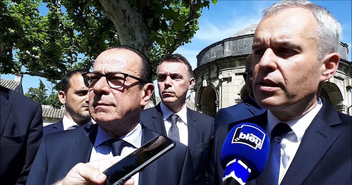 """François De Rugy à La Rencontre De La """"grande Provence"""" photo"""