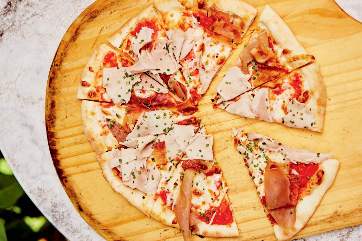 Forget Delivery, There's Ricardo's Meat Lovers Pizza photo