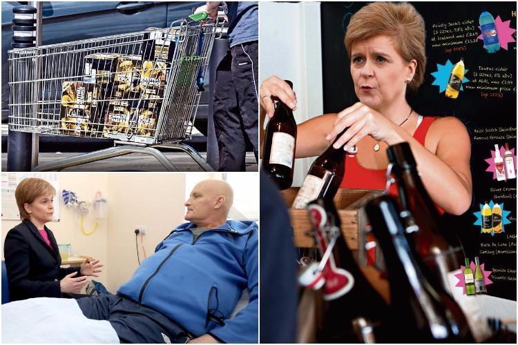 Booze Spree As Scotland Brings In Minimum Alcohol Price Blitz Today photo