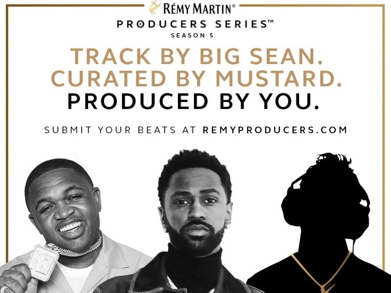 Big Sean & Dj Mustard Sign On For Remy Martin Producers Series photo