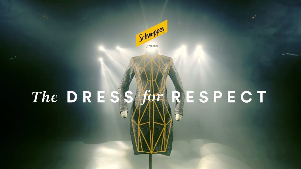 Schweppes Creates Touch Sensitive Dress To Highlight Female Harassment In Nightclubs photo