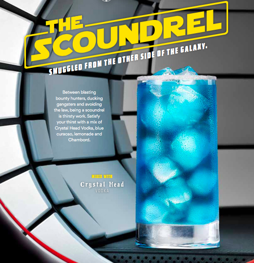 Crystal Head Vodka Creates Out-of-this-world Cocktail In Celebration Of ?solo: A Star Wars Story? photo